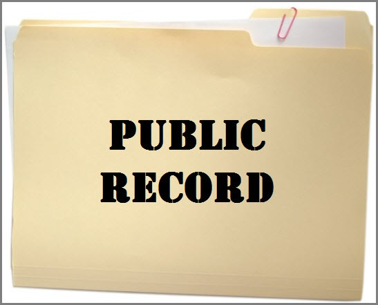 Getting Event Triggers from Public Records